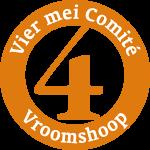 Logo 4 Mei Comité Vroomshoop